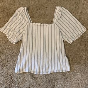 a new day Tops - Modern Peasant Top NWT